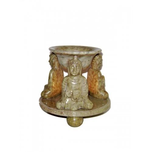 Πέτρινο αρωματοδοχείο Βούδας