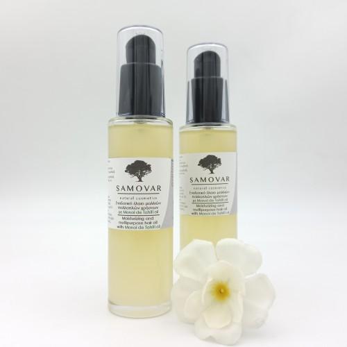 Έλαιο μαλλιών για βαθιά ενυδάτωση και θρέψη με Monoi de Tahiti oil