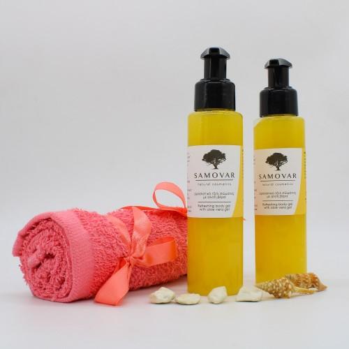 Δροσιστικό τζελ σώματος με αλόη και άρωμα ανανά