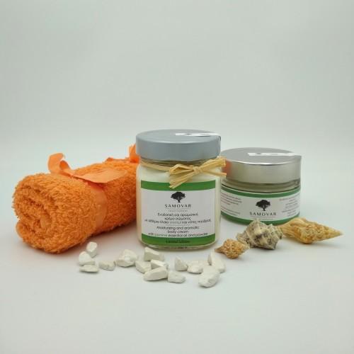 Κρέμα σώματος με αιθέριο έλαιο γιασεμιού και άρωμα πούδρας - Limited Edition