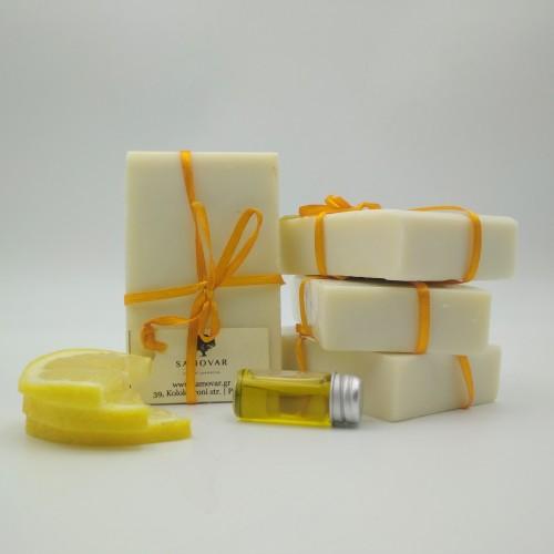 Σαπούνι ελαιολάδου με λεμόνι